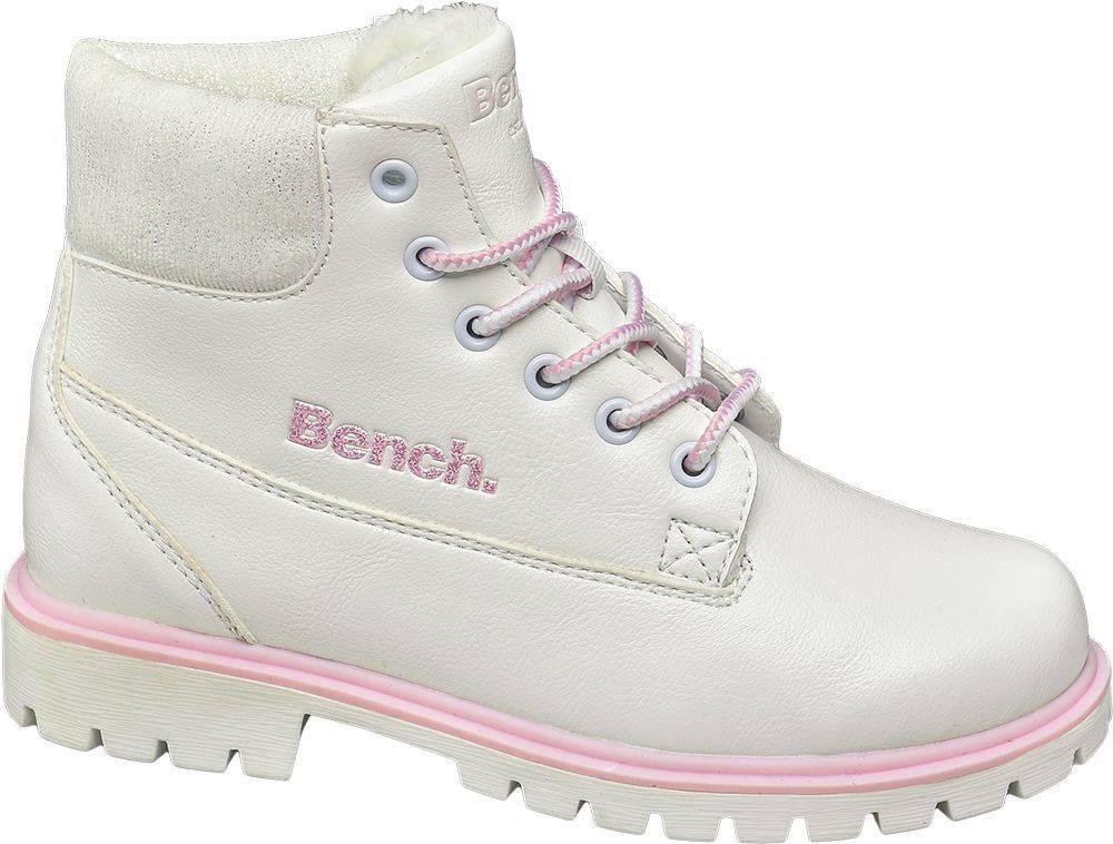 Bench Bench - Biela členková obuv Bench