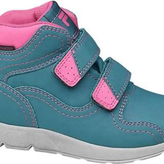 Fila - Modrá členková obuv na suchý zips Fila s TEX membránou