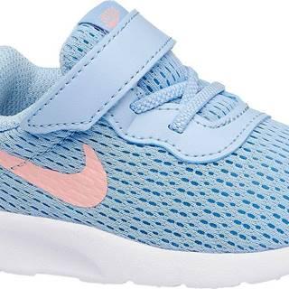NIKE - Modré tenisky na suchý zips Nike Tanjun Td