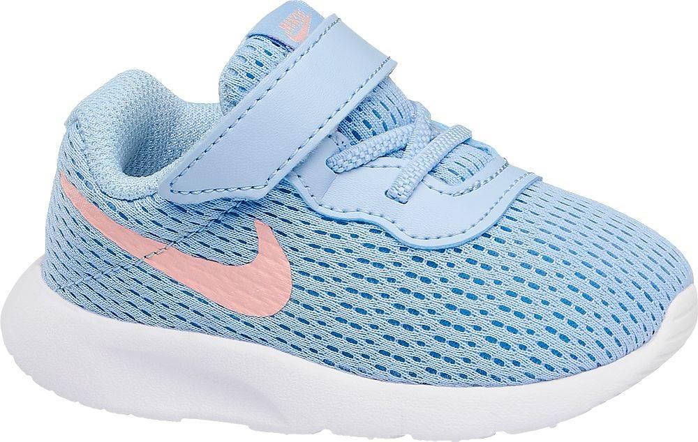 Nike NIKE - Modré tenisky na suchý zips Nike Tanjun Td