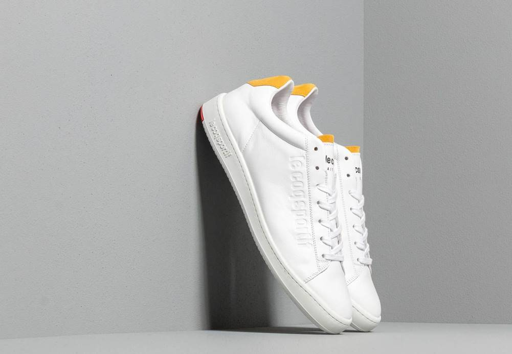 Le Coq Sportif le coq sportif Blazon Optical White/ Yellow