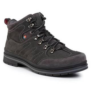 Šnurovacia obuv GO SOFT MI07-A811-A640-04 nubuk,koža(useň) zamšová