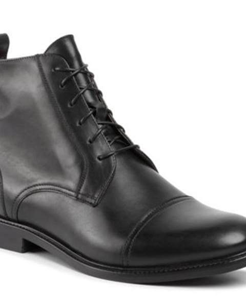 Gino Rossi Členkové topánky Gino Rossi MTU417-CHUCK-05 koža(useň) lícová