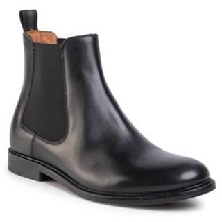 Členkové topánky Gino Rossi MSU350-CHUCK-14 koža(useň) lícová