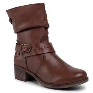 Členkové topánky GO SOFT OCE-DELICIA-05 koža(useň) lícová