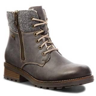 Šnurovacia obuv Rieker Z0441-45 Ekologická koža/-Ekologická koža