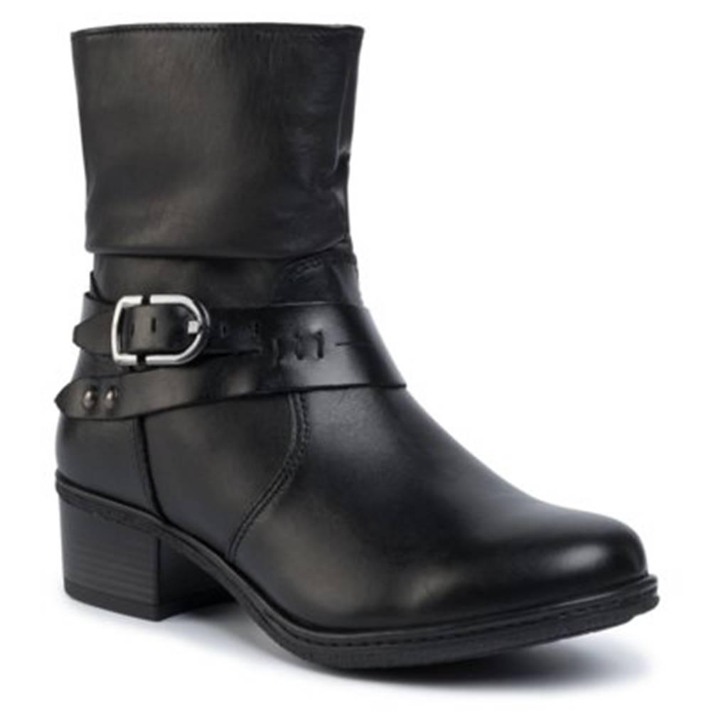 GO SOFT Členkové topánky GO SOFT OCE-DELICIA-05 koža(useň) lícová