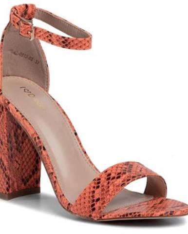 Oranžové sandále DeeZee