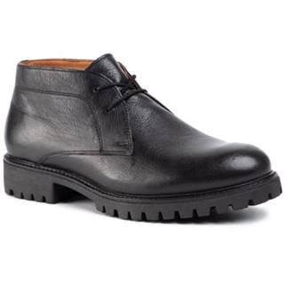 Šnurovacia obuv Gino Rossi MI08-C667-658-01 koža(useň) lícová