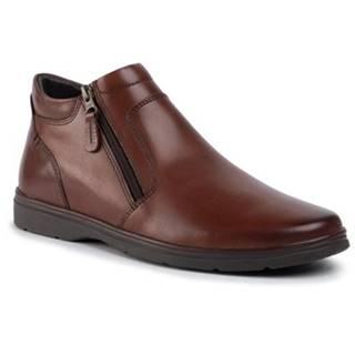 Členkové topánky Lasocki for men MB-NOBEL-02 koža(useň) lícová