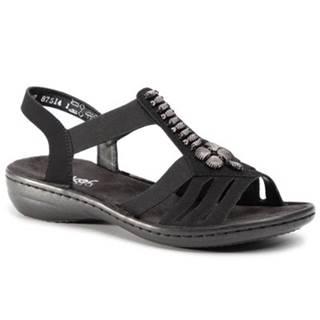 Sandále Rieker 60806-00 Ekologická koža/-Ekologická koža