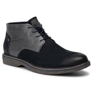 Šnurovacia obuv Lasocki for men MI08-C597-588-02 Prírodná koža(useň) - Nubuk
