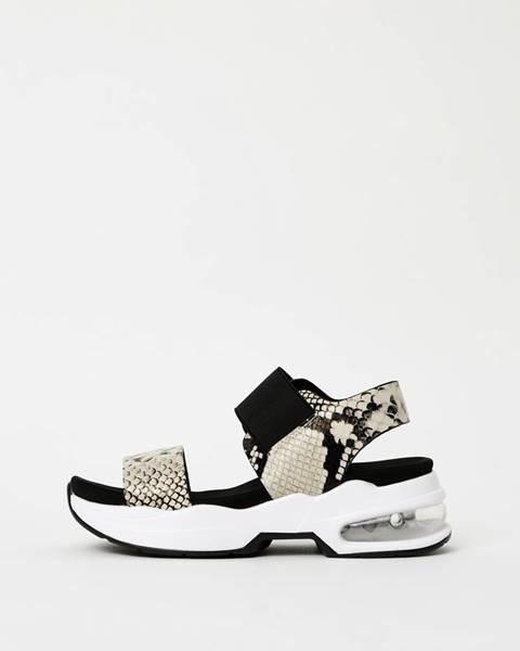 Krémové sandále Xti