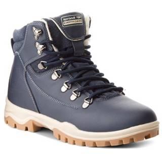 Šnurovacia obuv SPRANDI EARTH GEAR WP40-877JZ Materiał tekstylny,koža(useň) zamšová,koža ekologická