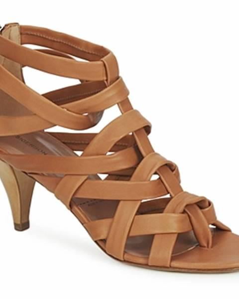 Hnedé sandále Sigerson Morrison
