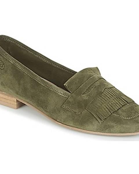 Zelené mokasíny Betty London