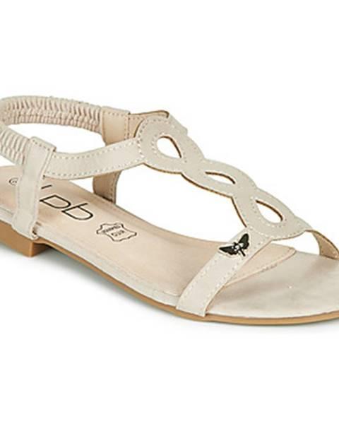 Béžové sandále Les Petites Bombes