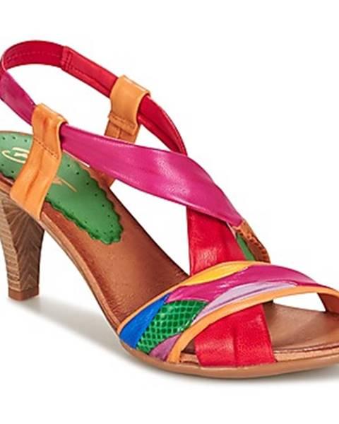 Viacfarebné sandále Betty London