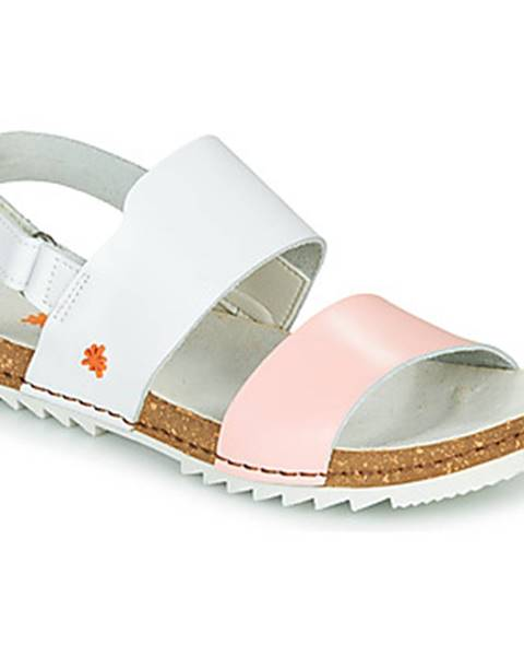 Biele sandále Art