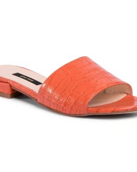 Oranžové topánky Gino Rossi