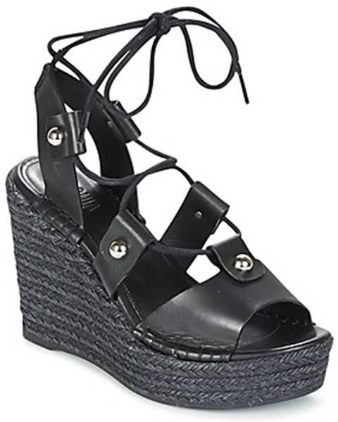 Čierne sandále Sonia Rykiel