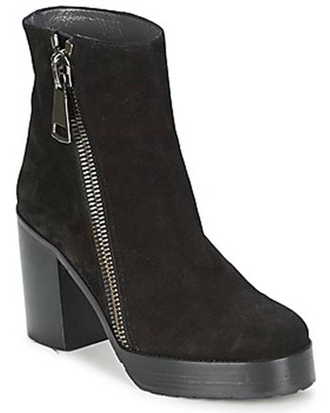 Čierne topánky Stéphane Kelian