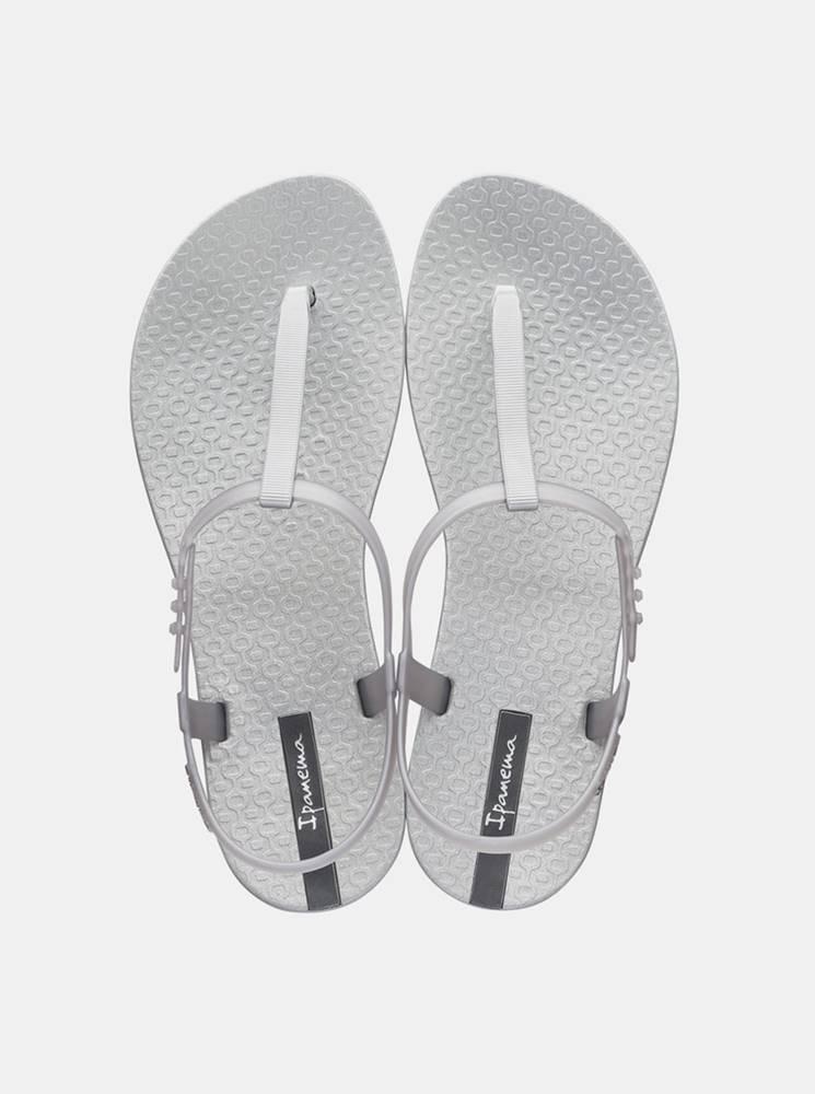 Ipanema Metalické sandálky v striebornej farbe Ipanema Class Exclusive