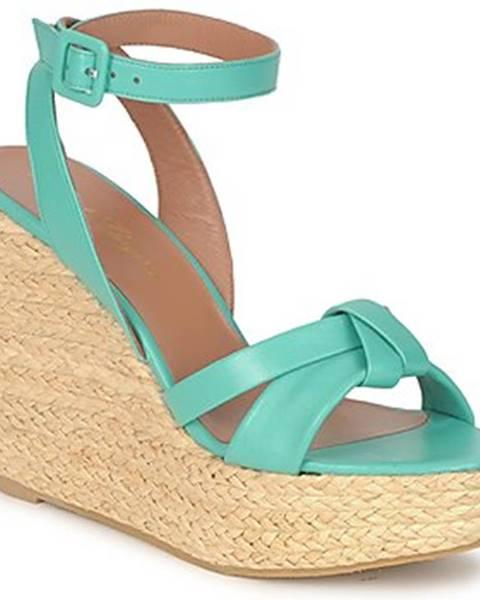 Modré sandále Robert Clergerie