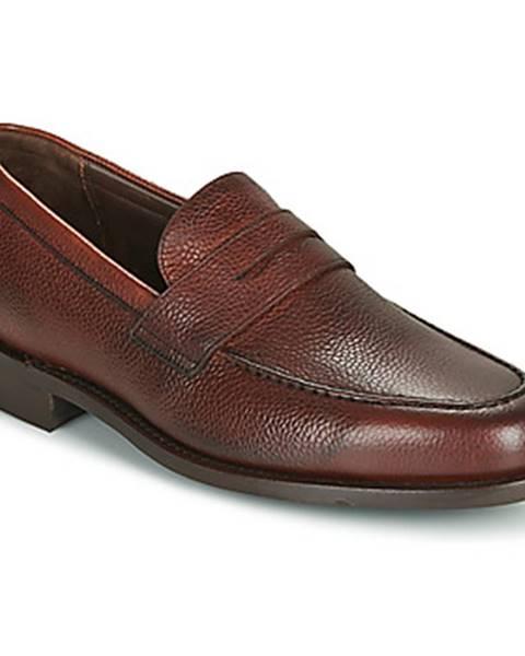 Bordové topánky Barker