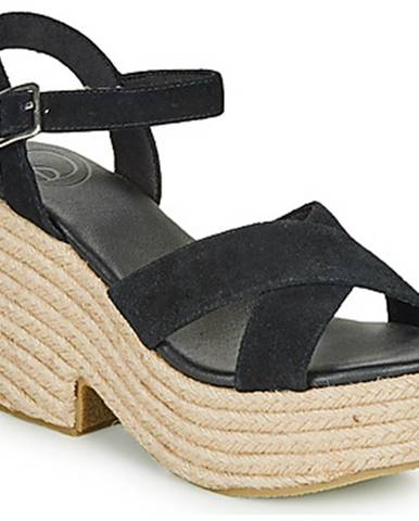 Čierne sandále Superdry