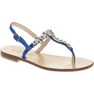 Sandále Leonardo Shoes  16/17 CAM BLUETTE/BLU TC 10