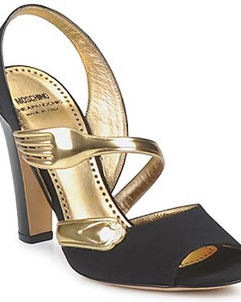 Čierne sandále Moschino Cheap   CHIC