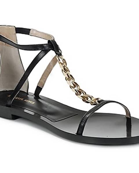 Čierne sandále Michael Kors