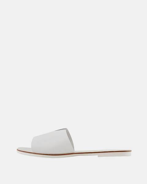 Biele papuče Pieces