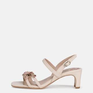 Krémové sandálky Tamaris