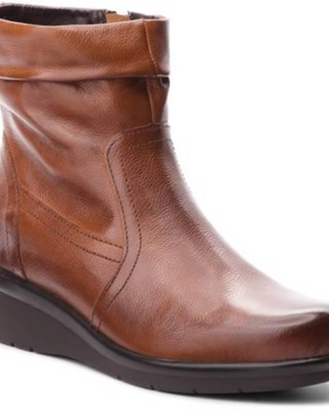 Hnedé topánky Lasocki Comfort