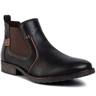 Členkové topánky Lanetti MBS-MELOS-08 koža ekologická