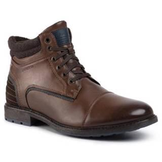 Šnurovacia obuv Lanetti MBS-IMOLA-01 Materiał tekstylny,koža ekologická