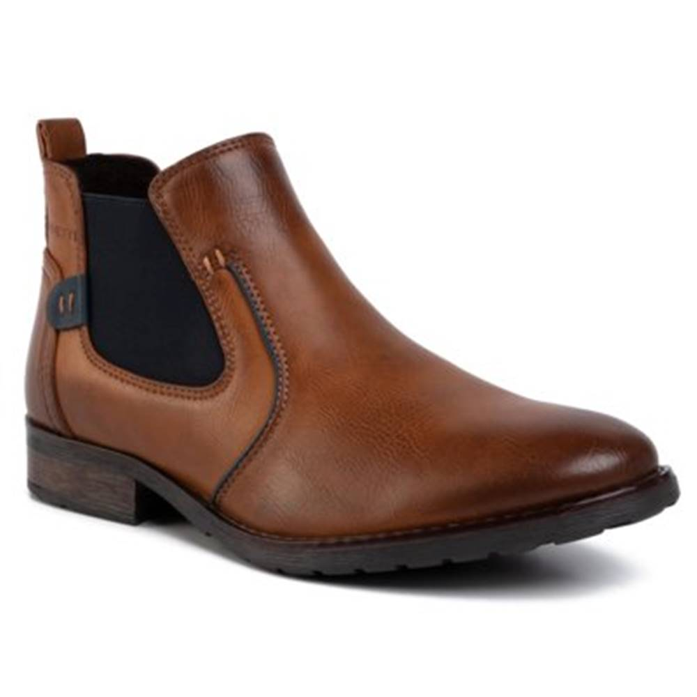 Lanetti Členkové topánky Lanetti MBS-MELOS-08 koža ekologická