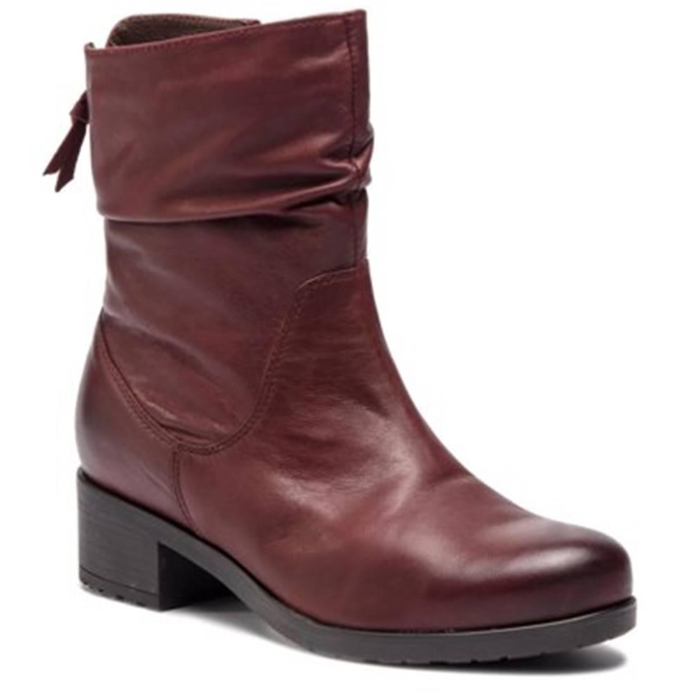 Lasocki Členkové topánky Lasocki 7467-01 koža(useň) lícová