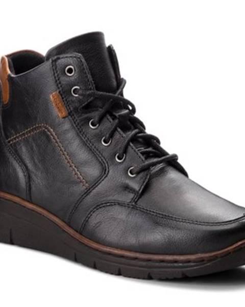 Čierne topánky Lasocki Comfort