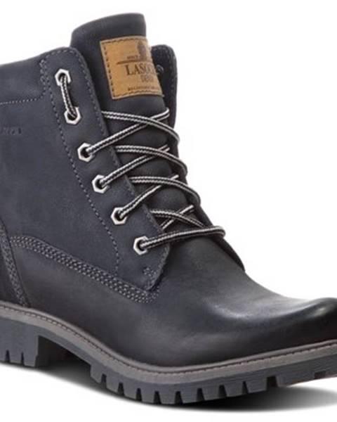 Lasocki Šnurovacia obuv Lasocki WI20-ASPEN-02 nubuk,koža(useň) lícová