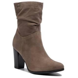 Členkové topánky Lasocki 4408-07 koža(useň) zamšová