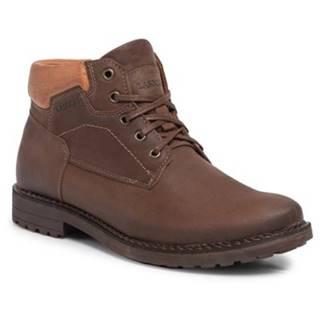 Členkové topánky Lasocki for men 9421-DIN-5 nubuk,koža(useň) lícová