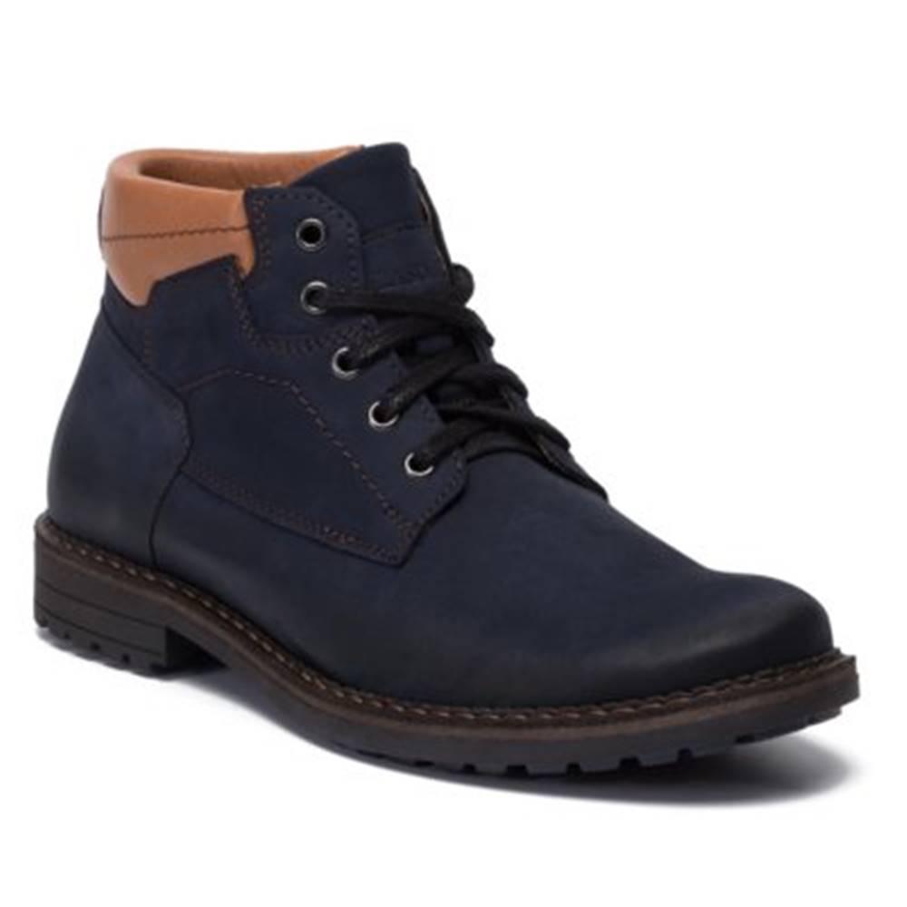 Lasocki for men Členkové topánky Lasocki for men 9421-DIN-5 nubuk,koža(useň) lícová