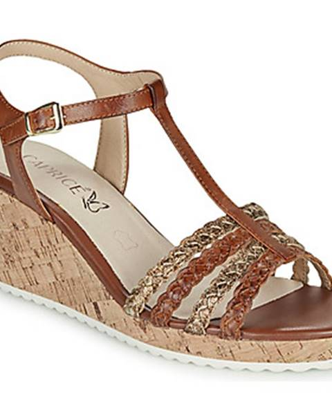 Hnedé sandále Caprice