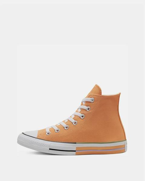 Oranžové tenisky Converse