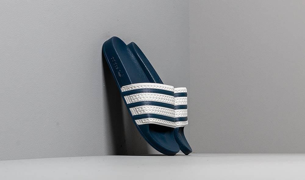 adidas Originals adidas Adilette Adi Blue/ White/ Adi Blue