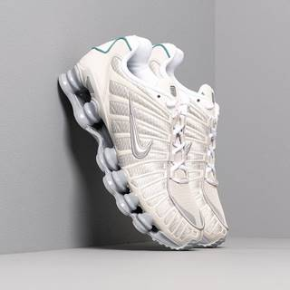 Nike Shox TL Light Bone/ Metallic Silver