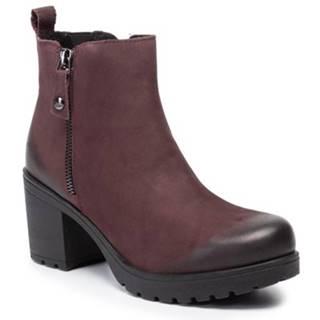 Členkové topánky Lasocki RST-2159-03 nubuk,koža(useň) lícová